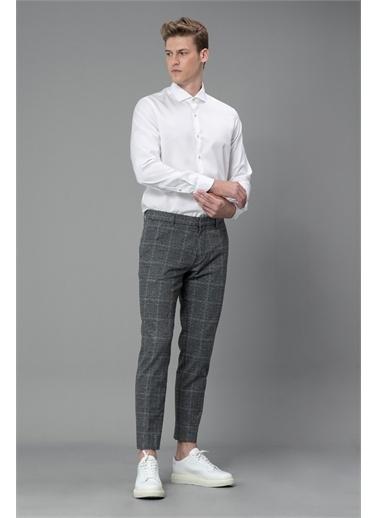 Lufian Glencoe Spor Gömlek Comfort Slim Fit  Beyaz